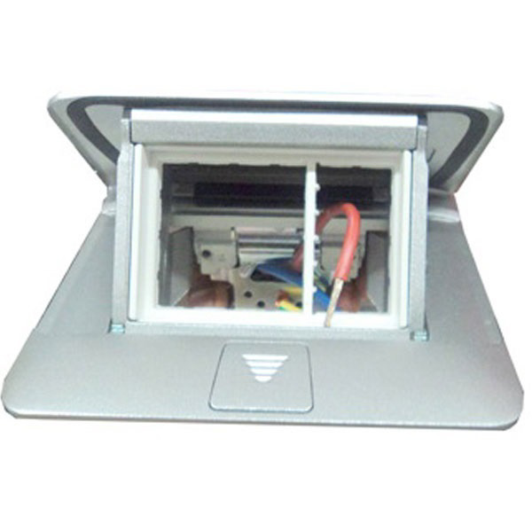 Buy Legrand 054011 4 Module Matt Al Popup Box At Best