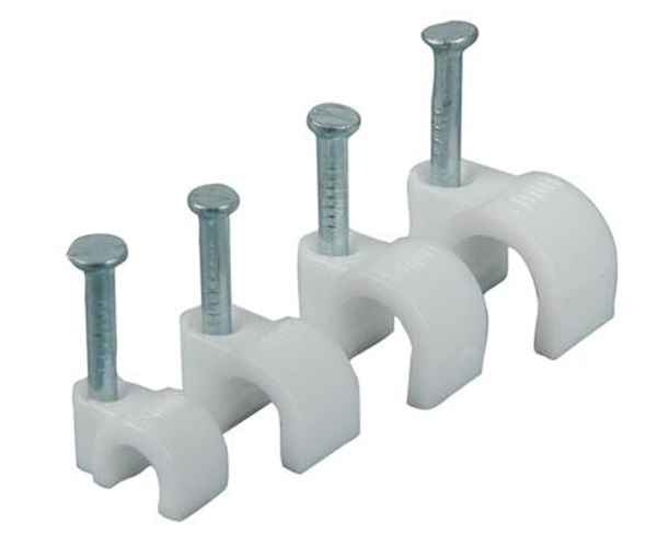 Picture of PVC 4mm Cable Clip