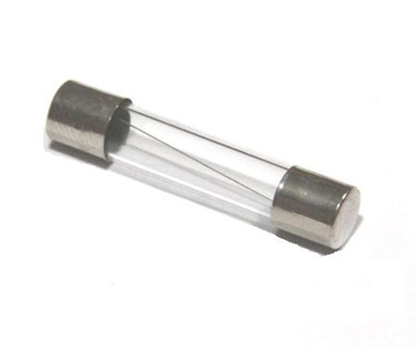 Picture of 6A 20mm Fast Blow Cartridge Glass Fuse (10 Pcs)