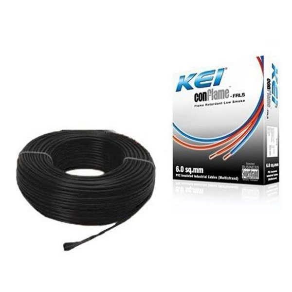 Picture of KEI 6 sq mm 90 mtr FRLS House Wire