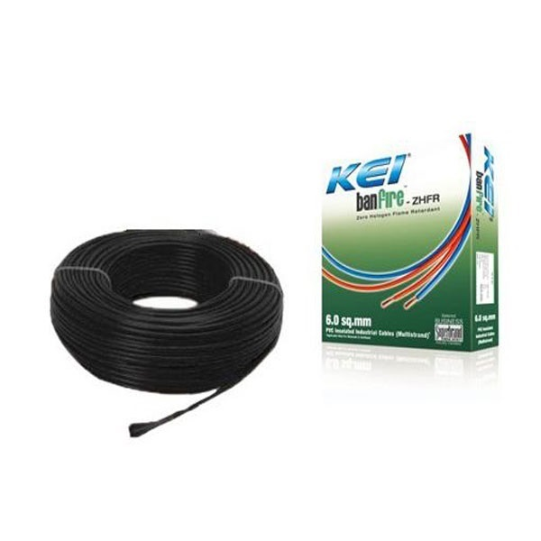 Picture of KEI 6 sq mm 180 mtr ZHFR House Wire