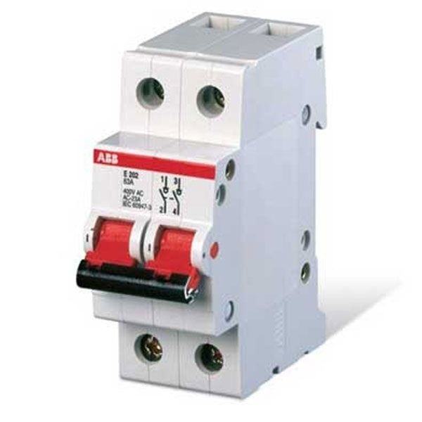 Buy Abb 63a Double Pole Isolator Switch Online At Best