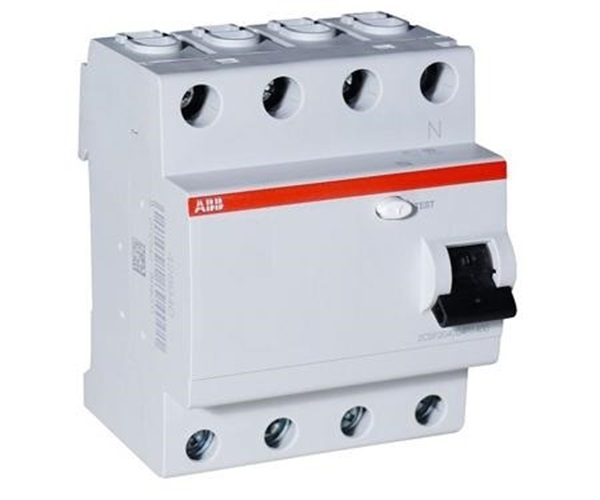 Picture of ABB 40A 300mA 4 Pole RCCB