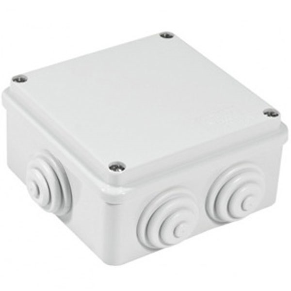 Picture of Gewiss GW44004 100x100x50 Junction Box with Glands IP-55