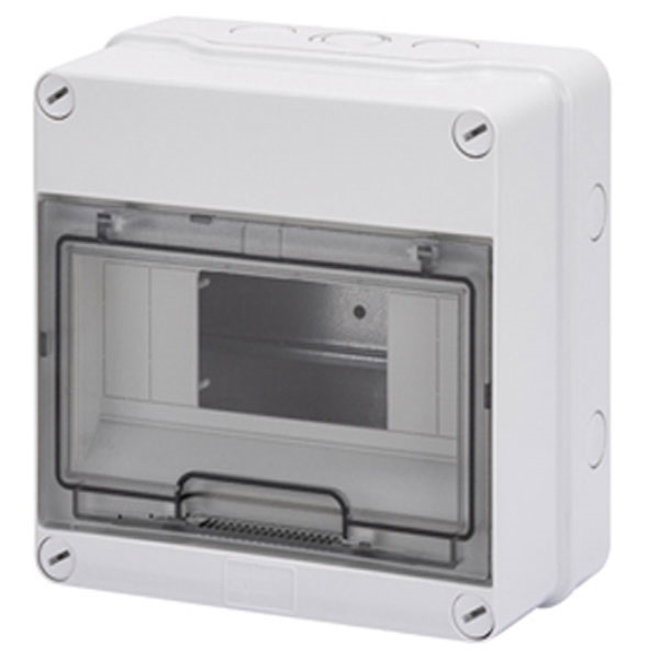 Picture of Gewiss GW40003 8 Module Waterproof IP55 Enclosure