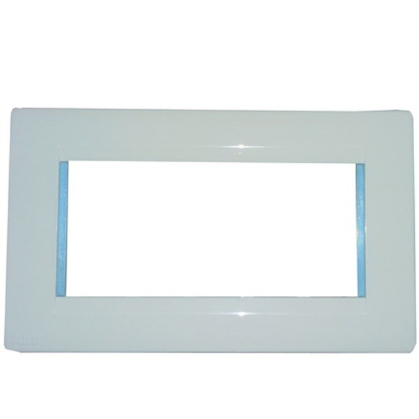 Picture of ABB 4 Module Lumina Cover Plate With Frame