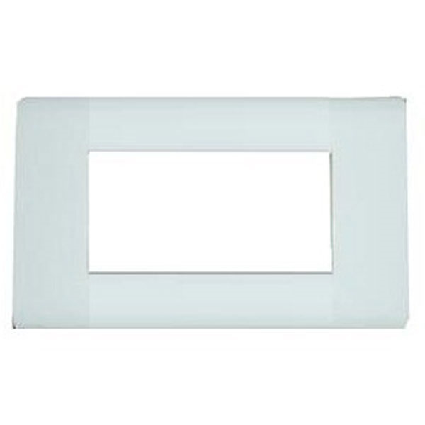 Picture of ABB 4 Module Sleek Cover Plate With Frame
