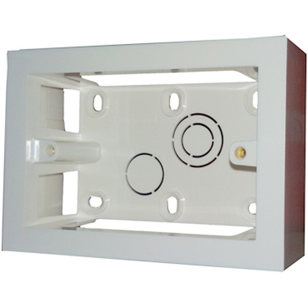 Picture of Legrand 673303 3 Module Surface Box