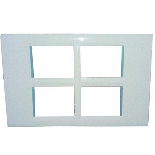 Picture of ABB 16 Module Lumina Cover Plate With Frame