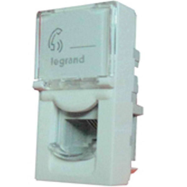 Picture of Legrand Arteor 573426 White RJ11 Socket