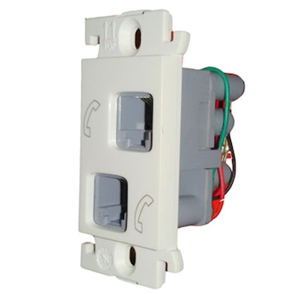Picture of Legrand Mylinc 675544 Dual RJ11 Socket