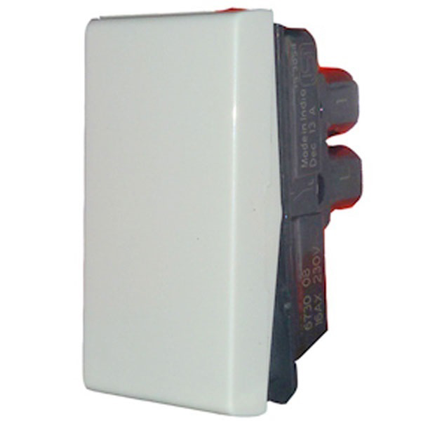 Picture of Legrand Myrius 673008 16A One Way White Switch