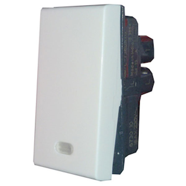 Picture of Legrand Myrius 673010 16A One Way Indicator White Switch