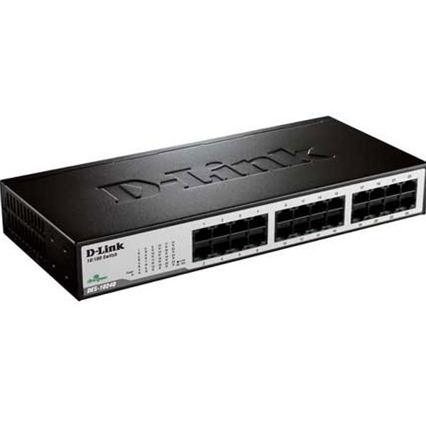 Buy D Link Des1024 24 Port Unmanaged Ethernet Switch At Best Price In India