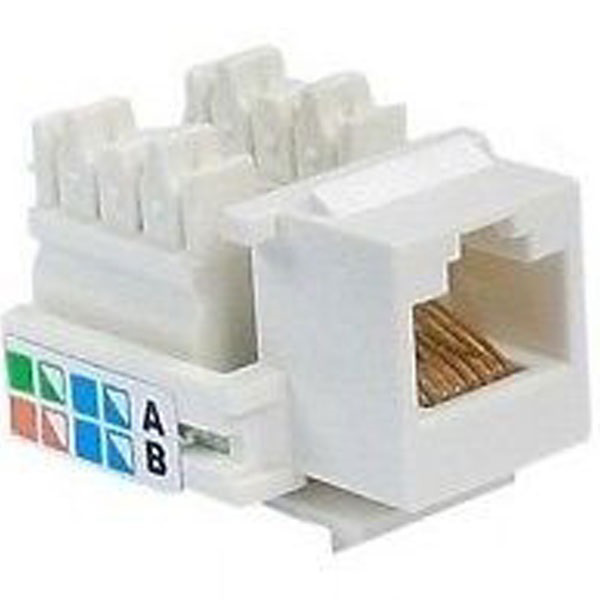 Picture of AMP CAT5 RJ45 I|O Connector