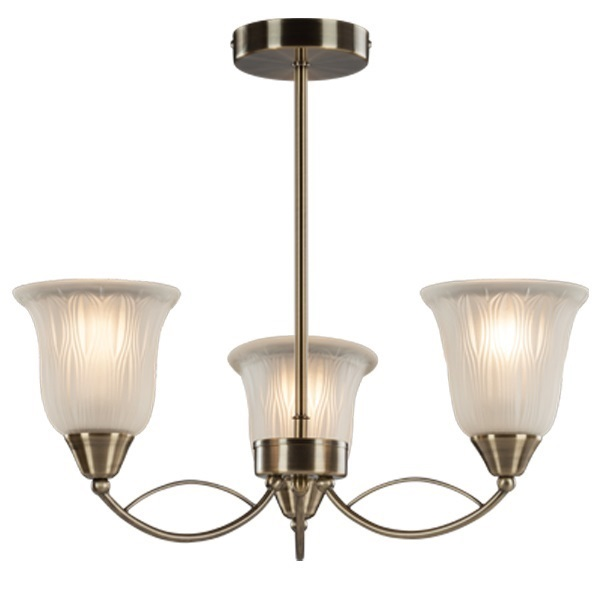 Picture of Usha Tisva Daphne CP3011 3 lamps Chandelier