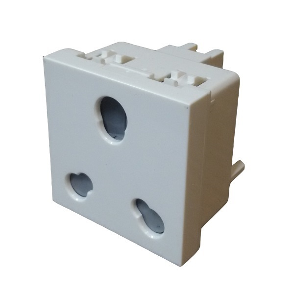 Picture of MK Citric CW424WHI 6-16A 2M Socket
