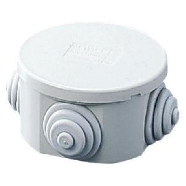 Picture of Gewiss GW44002 80X40 Round Junction box with Glands IP-44