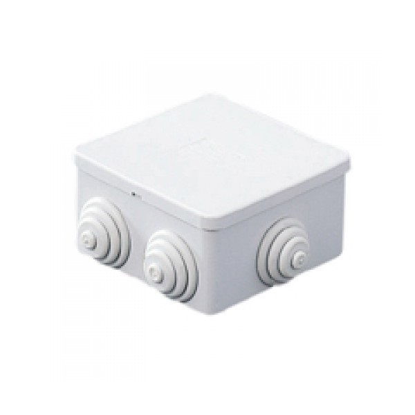 Picture of Gewiss GW44003 80X40 Square Junction box with Glands IP-44