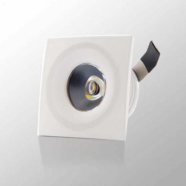 Buy Syska 2w Ssk Cl S 2w C Clear Lens Square Led Spotlight Online