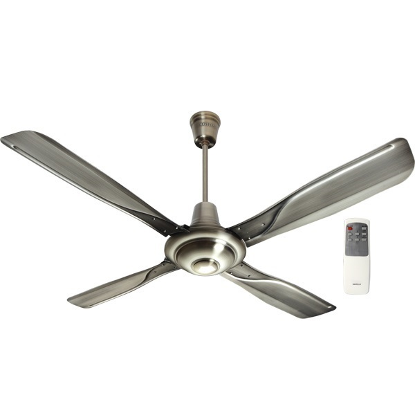 Buy Havells Yorker With Remote 52 Quot Antique Brass Ceiling