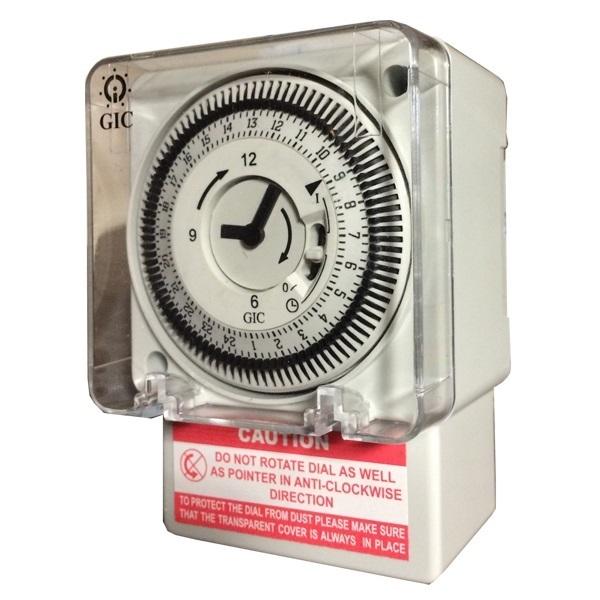Buy L Amp T Gic J648b1 Fm 1 Quartz Analog Timer Switch At Best