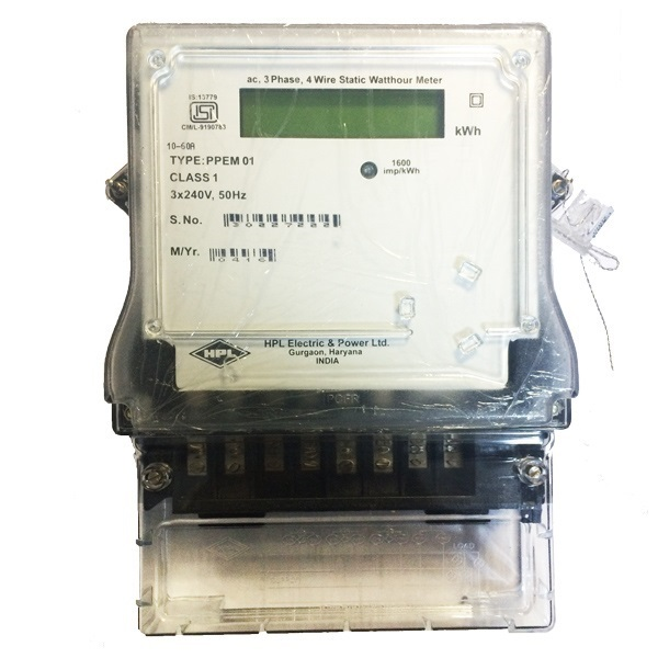 Picture of HPL 10-60A 3Phase Energy Meter