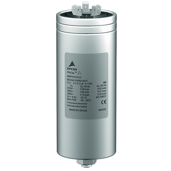 Buy Epcos 5 Kvar Phicap Power Capacitor Online At Low Price In India