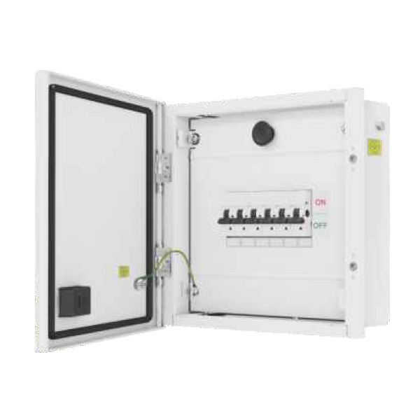 Picture of L&T DBSPN004DD 4 Way SPN Distribution Board