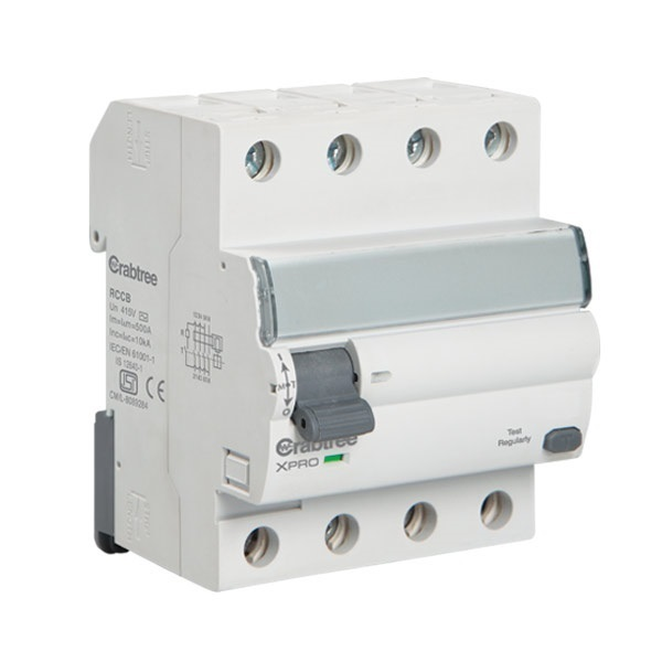 Buy Crabtree Xpro 100a 30ma 4 Pole Rccb At Best Price In India