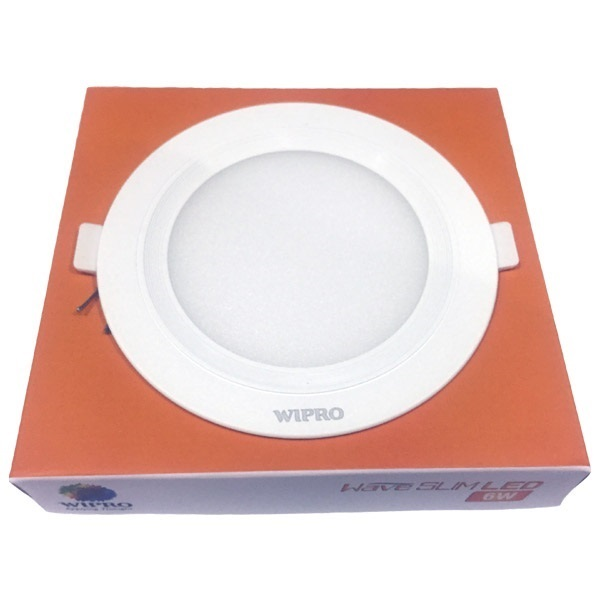 Picture of Wipro Garnet Wave Slim 6W Round LED Panels