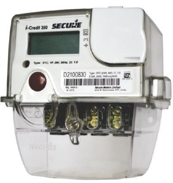 Secure I-Credit 350 10-60A 1Phase Energy Meter