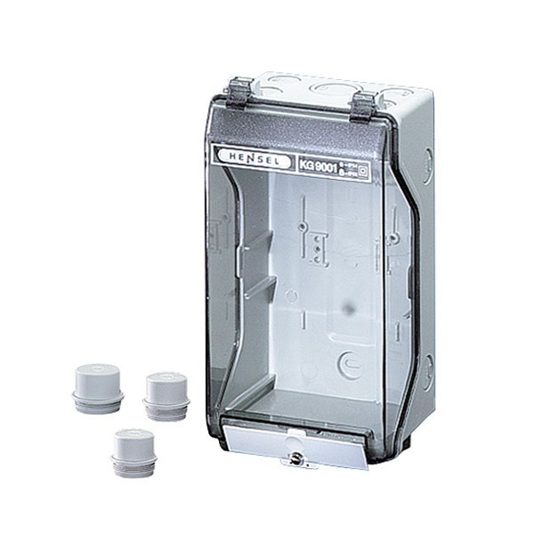 Picture of Hensel KG 9001 With Transparent Lid Distribution Board