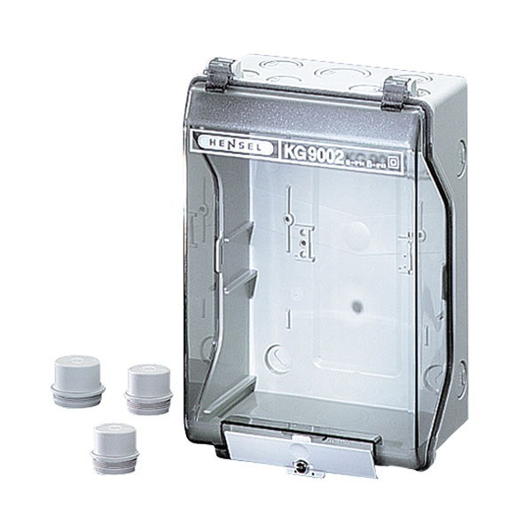Picture of Hensel KG 9002 With Transparent Lid Distribution Board