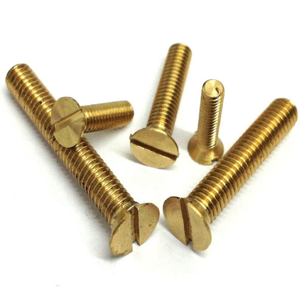 Picture of Brass Screw 1.5 inch (12 pcs)