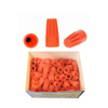 Picture of Ideal Orange Wire Nuts for 0.75 Sqmm to 2.5 Sqmm (100 Pcs)
