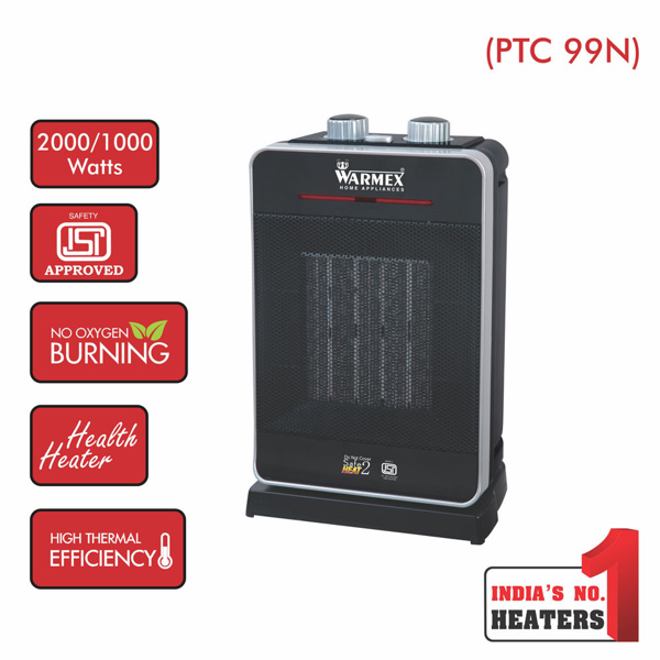 Picture of Warmex 99 N Table Top PTC Fan Heater