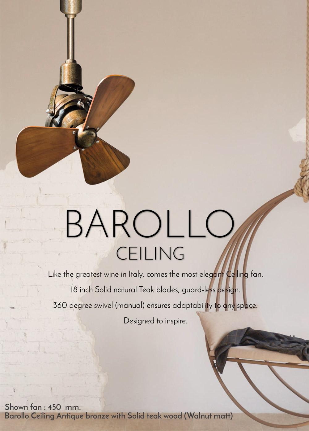 Windmill Barollo Ceiling